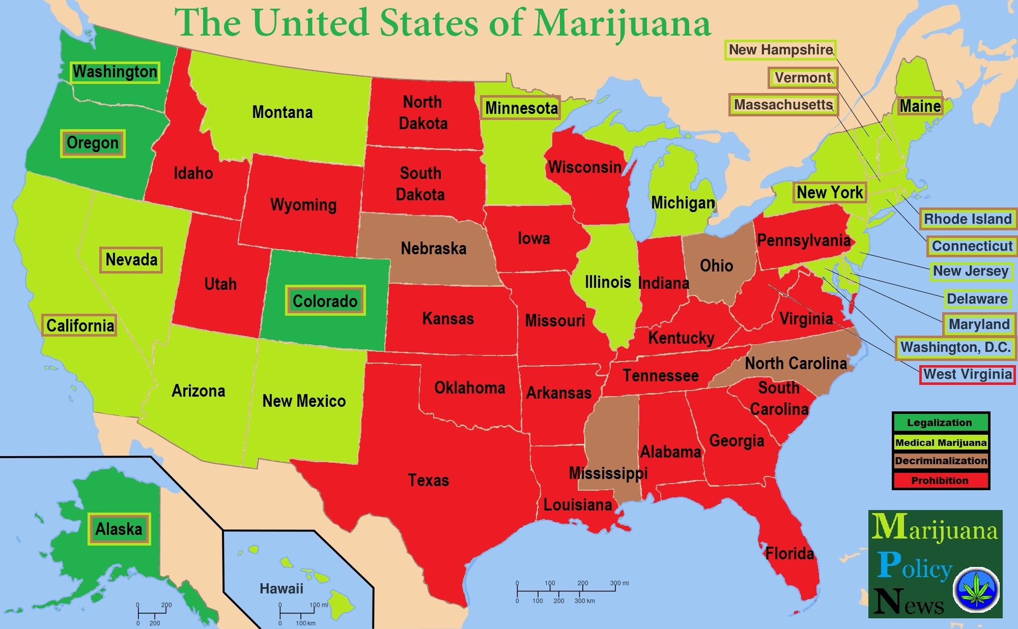 The United States of Marijuana - Medical Marijuana